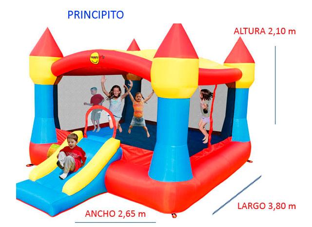 Castillo Hinchable Alquiler Principito