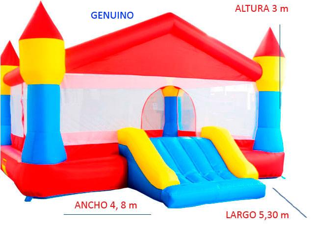 Castillo Hinchable Alquiler Genuino